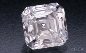 Asscher Cut Diamond courtesy of GIA.Get your unique diamond look at Biris Jewelers near Canton, Ohio