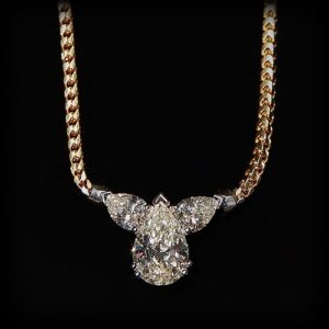 Pear shape diamond at Biris Jewelers near Canton, Ohio