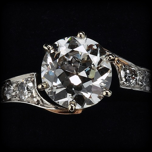Victorian Diamond Engagement Ring Collection available at Biris Jewelers near Canton, Ohio