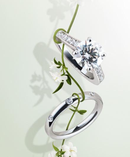 Van Cleef & Arpels Diamond Engagement Ring