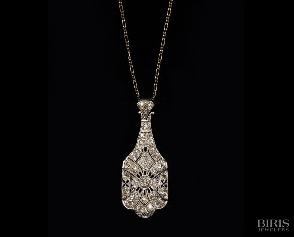 Necklace-antique-diamond-necklace