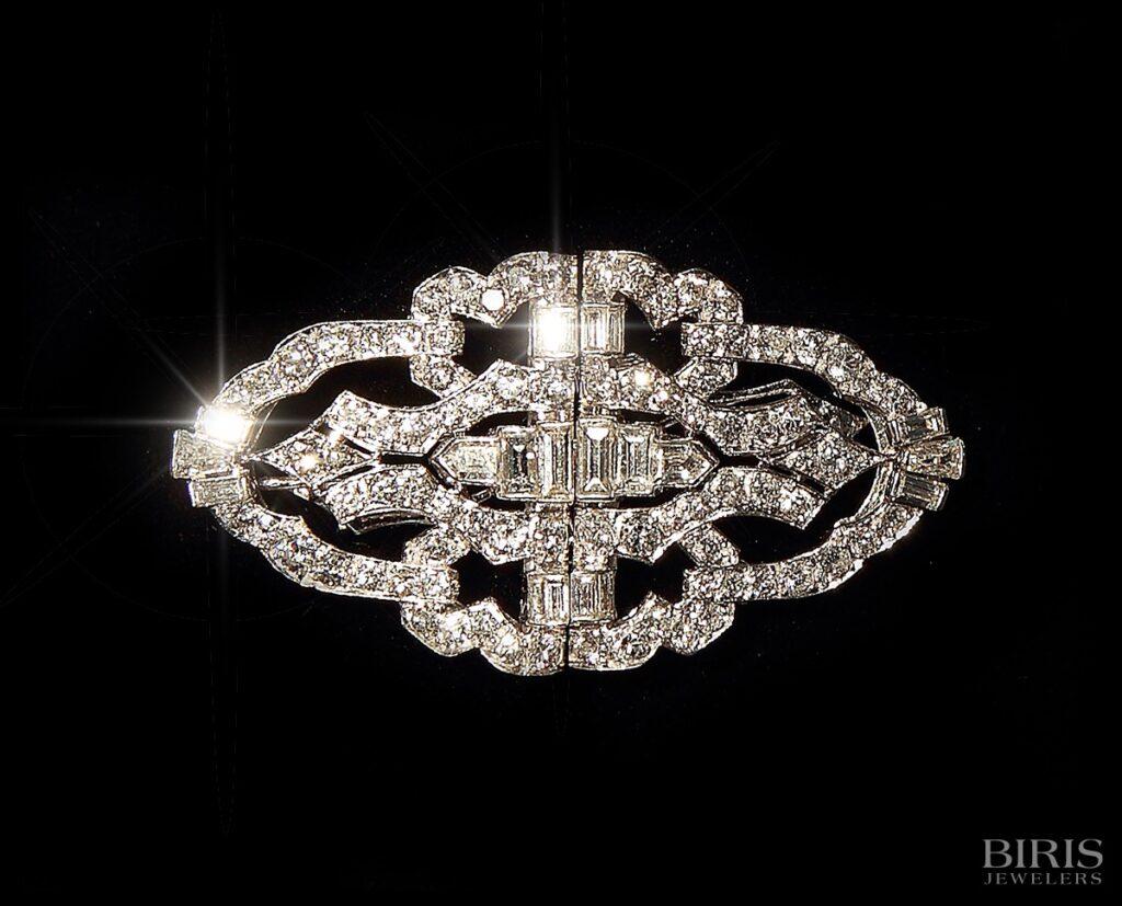 Pendant-platinum-diamond-deco-clip