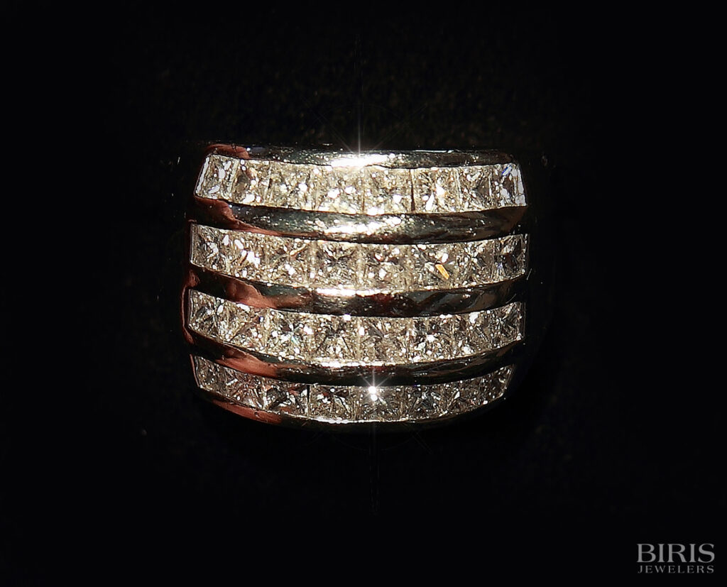 Ring-princess-cut-diamond-band