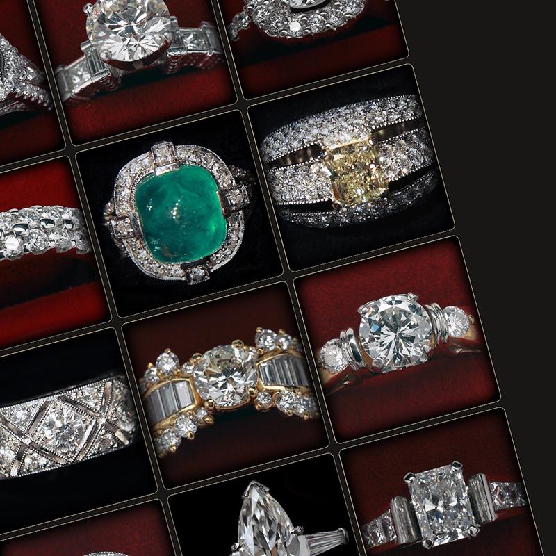 Diamond and Precious Stone Rings Gallery