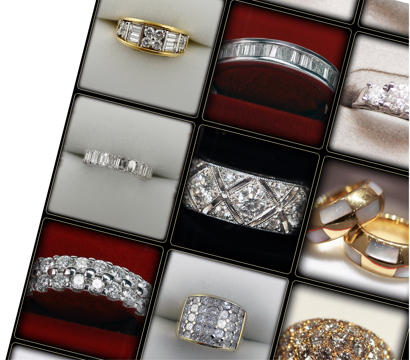 Custom and Unique Jewelry Rings and Bands