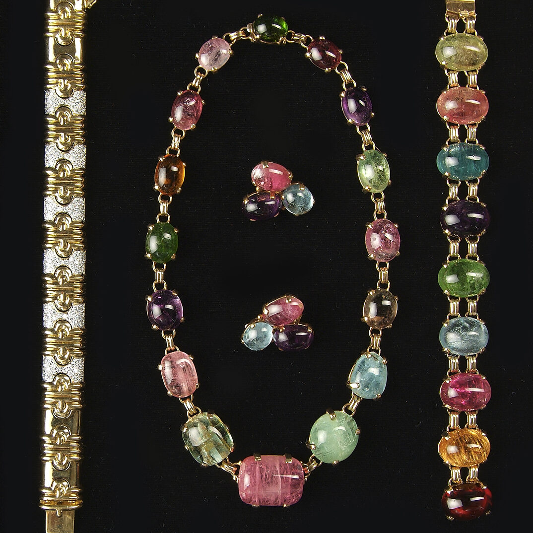 Necklaces, Bracelets, and Earrings
